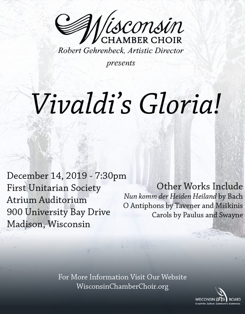 Vivaldi's Gloria 2019